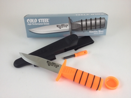COLD STEEL EDGE SURVIVAL KNIFE