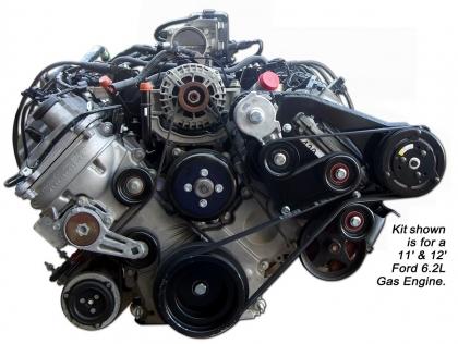 Belt Drive Compressor Mounting Kit
