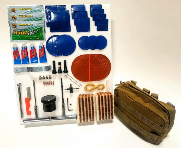 The Ultimate Puncture Repair Kit (Choose Bag Color)