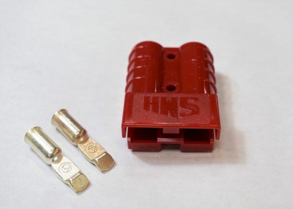 50 Amp Anderson Connector (Choose Lugs Gauge)