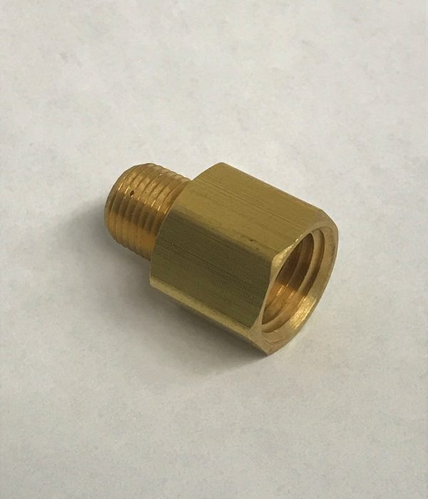 "1/4"" Female to 1/8"" Male Brass Adapter"